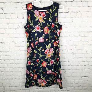 ELIZA J | embroidered floral flower dress